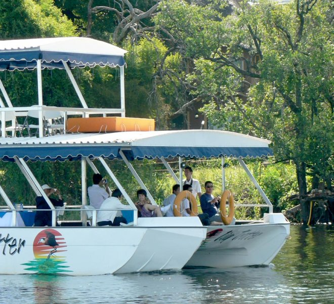 Janala Tours and Safaris - Chobe boat cruises